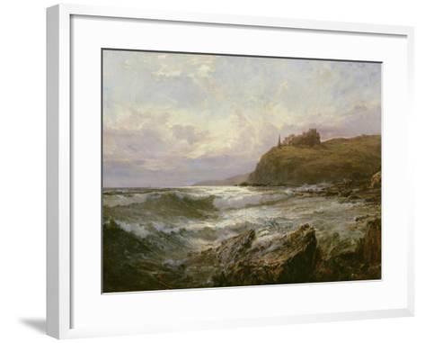 Tantallon Castle, East Lothian, C.1876-Claude Hayes-Framed Art Print