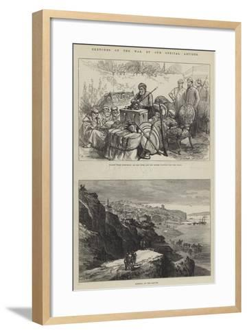 Sketches of the War-Charles Robinson-Framed Art Print