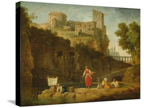 View of Italy-Claude Joseph Vernet-Stretched Canvas Print