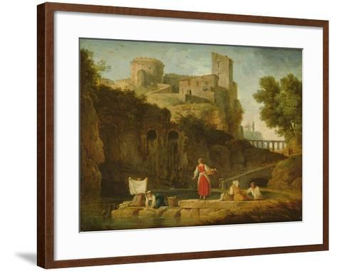 View of Italy-Claude Joseph Vernet-Framed Art Print