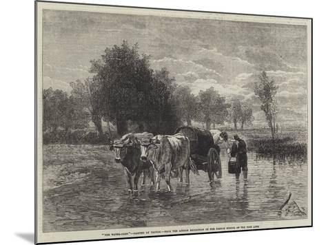 The Water-Cart-Constant-emile Troyon-Mounted Giclee Print