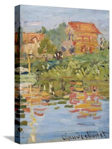 Regattas at Argenteuil, C.1872 (Detail)-Claude Monet-Stretched Canvas Print