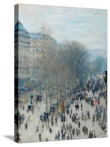 Boulevard Des Capucines, 1873-4-Claude Monet-Stretched Canvas Print