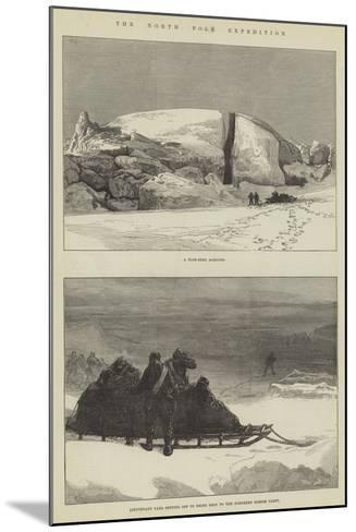 The North Pole Expedition-Charles Robinson-Mounted Giclee Print