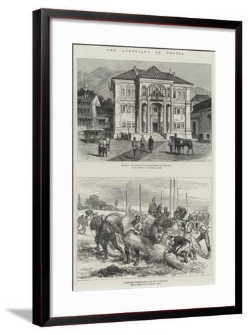 The Austrians in Bosnia-Charles Robinson-Framed Art Print