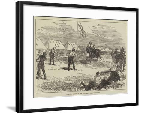 Athletic Sports at the Volunteer Camp, Wimbledon-Charles Robinson-Framed Art Print