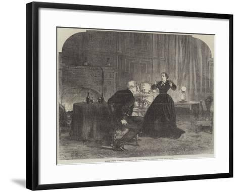 Scene from Henry Dunbar, at the Olympic Theatre-Charles Robinson-Framed Art Print