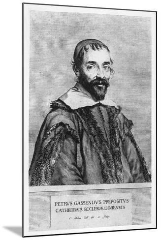 Portrait of Pierre Gassendi-Claude Mellan-Mounted Giclee Print