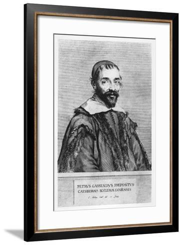 Portrait of Pierre Gassendi-Claude Mellan-Framed Art Print