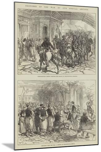 Sketches of the War-Charles Robinson-Mounted Giclee Print