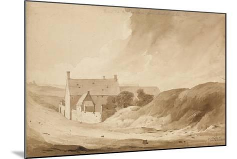 No 8 Farme De La Haie Sainte from Mount St John', 1815-Denis Dighton-Mounted Giclee Print