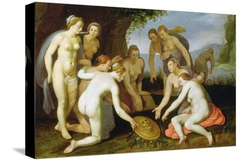 A Scene from the Legend of Perseus and Andromeda-Cornelis Cornelisz^ van Haarlem-Stretched Canvas Print