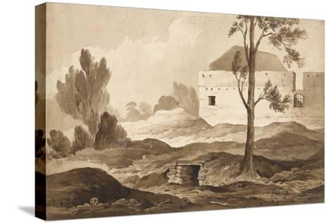 No 9 Farme Du Gourman from the Right', 1815-Denis Dighton-Stretched Canvas Print