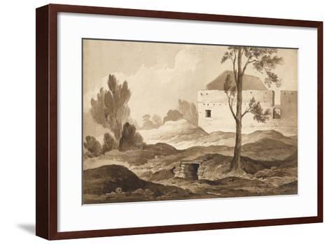 No 9 Farme Du Gourman from the Right', 1815-Denis Dighton-Framed Art Print