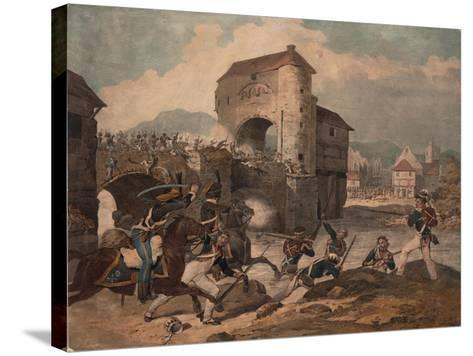 Pursuit of the French at Toulouse, 1814--Stretched Canvas Print
