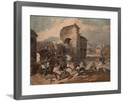 Pursuit of the French at Toulouse, 1814--Framed Art Print
