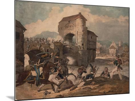 Pursuit of the French at Toulouse, 1814--Mounted Giclee Print