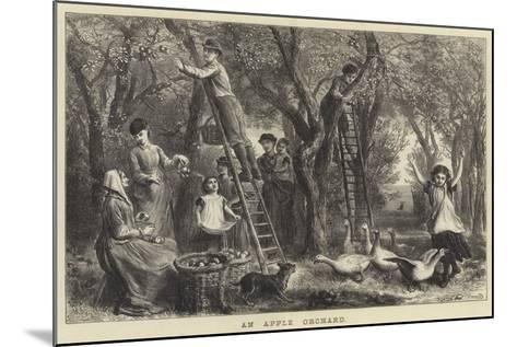 An Apple Orchard-Ebenezer Newman Downard-Mounted Giclee Print