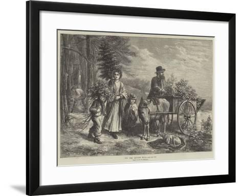 For the Squire's Hall-Ebenezer Newman Downard-Framed Art Print