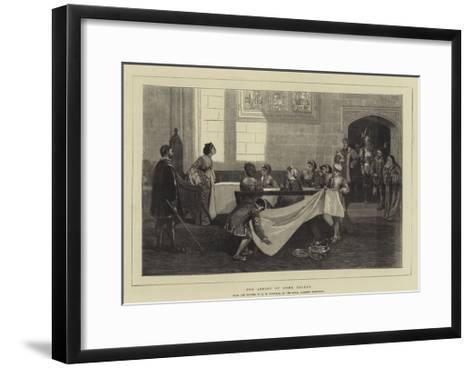 The Arrest of Anne Boleyn-David Wilkie Wynfield-Framed Art Print