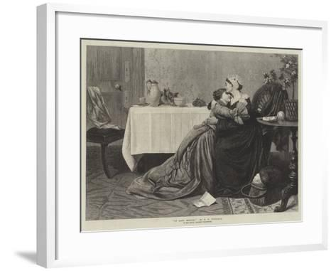 At Last, Mother!-David Wilkie Wynfield-Framed Art Print
