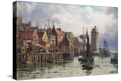 A Bit of Old Shields, 1898-Duncan F. McLea-Stretched Canvas Print