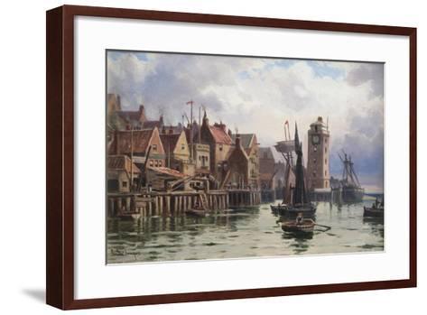 A Bit of Old Shields, 1898-Duncan F. McLea-Framed Art Print
