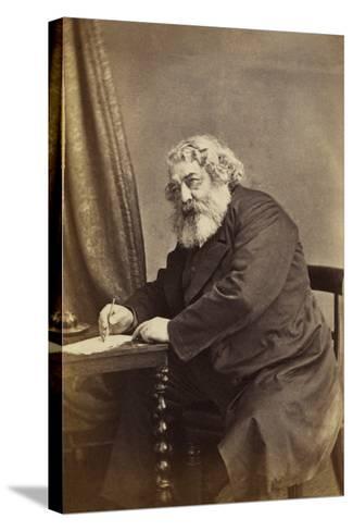 Mark Lemon, C.1868-D. Everest-Stretched Canvas Print
