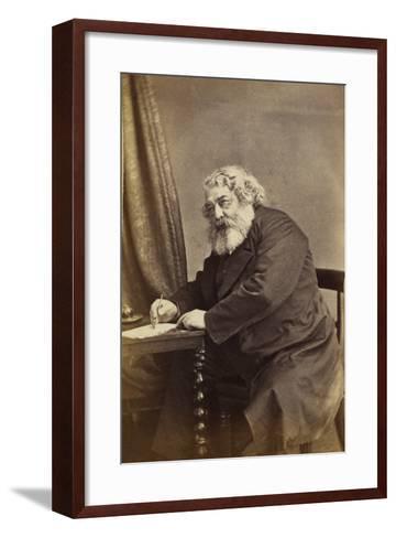 Mark Lemon, C.1868-D. Everest-Framed Art Print