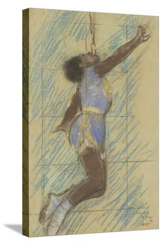 Miss Lala at the Fernando Circus, 1879-Edgar Degas-Stretched Canvas Print