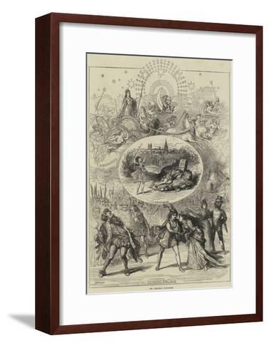 The Christmas Pantomimes-David Henry Friston-Framed Art Print