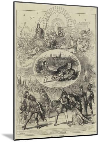 The Christmas Pantomimes-David Henry Friston-Mounted Giclee Print