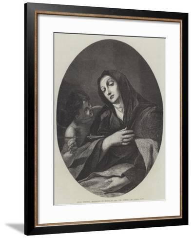 St Teresa-Dirck Van Delen-Framed Art Print