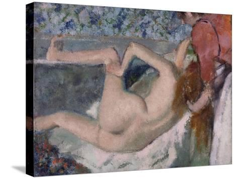 After the Bath, C.1895-Edgar Degas-Stretched Canvas Print