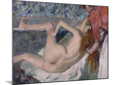 After the Bath, C.1895-Edgar Degas-Mounted Giclee Print