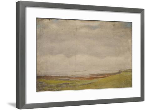 Holy Island-Daniel Oliver-Framed Art Print