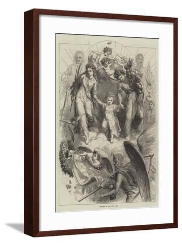Bringing in the New Year-David Henry Friston-Framed Art Print