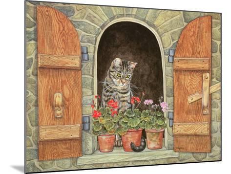 Susie's Window-Ditz-Mounted Giclee Print