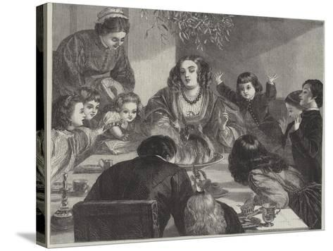 The Crown of the Feast-Edgar Melville Ward-Stretched Canvas Print