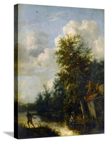 A Landscape, C.1650-Cornelius Decker-Stretched Canvas Print
