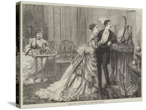 Scene from Lady Flora, at the Court Theatre-David Henry Friston-Stretched Canvas Print