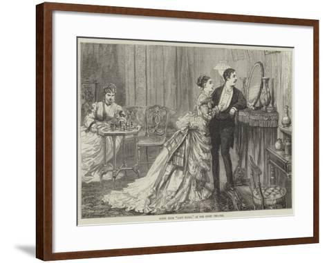 Scene from Lady Flora, at the Court Theatre-David Henry Friston-Framed Art Print