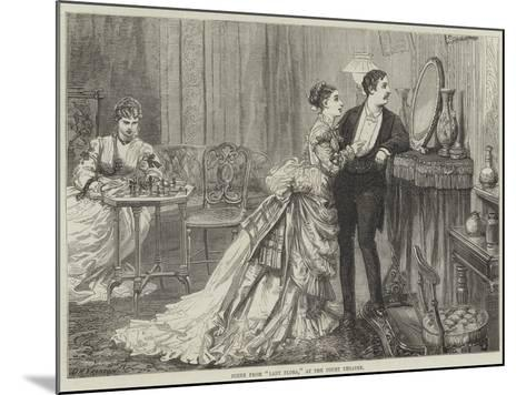 Scene from Lady Flora, at the Court Theatre-David Henry Friston-Mounted Giclee Print