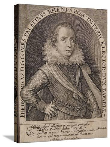 Frederick V-Crispin I De Passe-Stretched Canvas Print