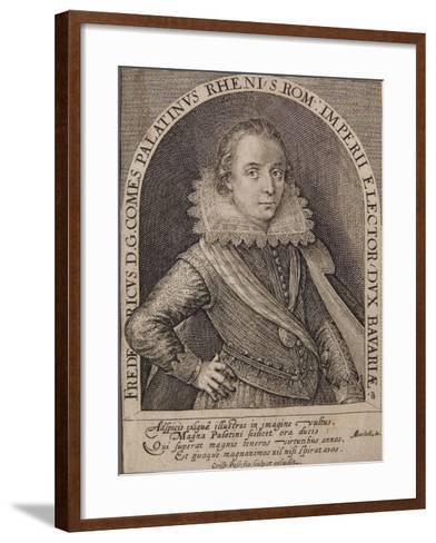 Frederick V-Crispin I De Passe-Framed Art Print
