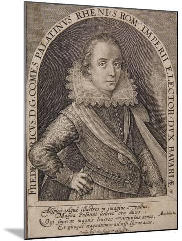 Frederick V-Crispin I De Passe-Mounted Giclee Print