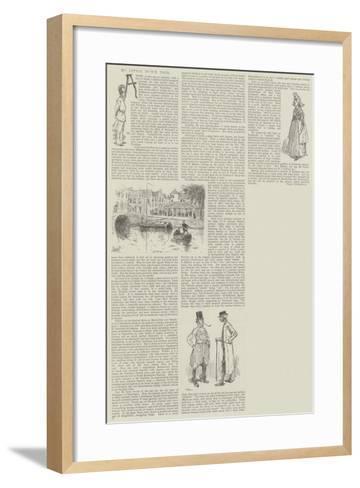 My Little Dutch Tour-David Hardy-Framed Art Print