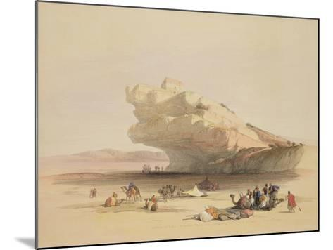 Approach to Petra-David Roberts-Mounted Giclee Print