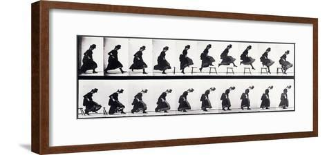 Motion Study, C.1872-1885-Eadweard Muybridge-Framed Art Print