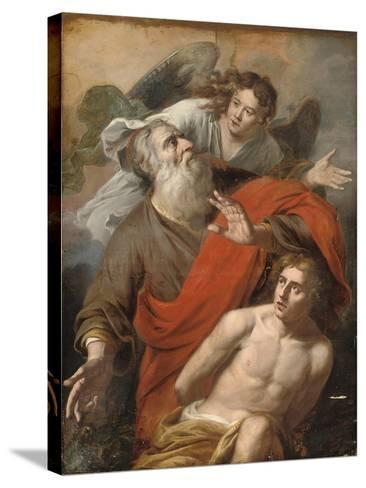 The Sacrifice of Isaac-Constantin Verhout or Voorhout-Stretched Canvas Print